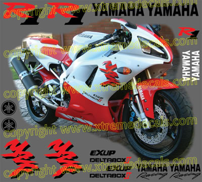 Yamaha R1 Decal Kit 1998 Model