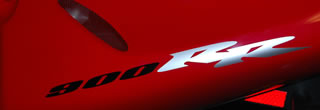 Single Honda 900RR Decal 2 Colour