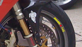 Ducati 748 Rim Decal set