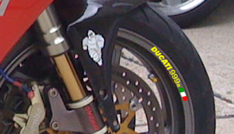 Ducati 999r Rim Decal set
