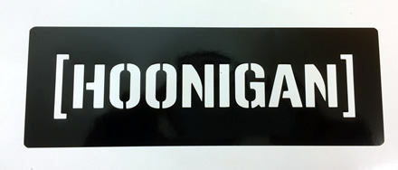 Hoonigan Decal