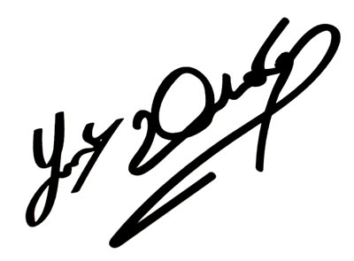 One Joey Dunlop Autograph Decal