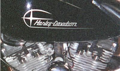 Harley Decals Vintage Pair
