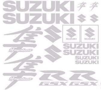 Suzuki Hayabusa 18 Decal Set