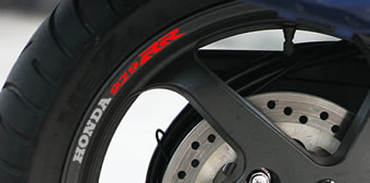 Honda 929RR Rim Decal set