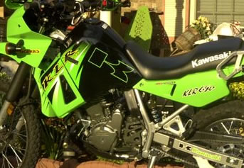Outlined K Kawasaki