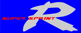 Honda R Supersprint decal for the NSR 1998 Model Left