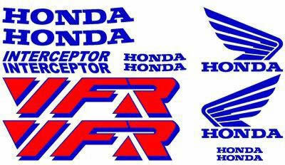 Honda VFR Interceptor Full Decal Set 2 Color